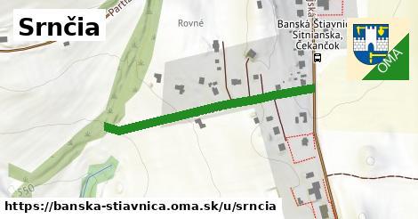 ilustrácia k Srnčia, Banská Štiavnica - 384m