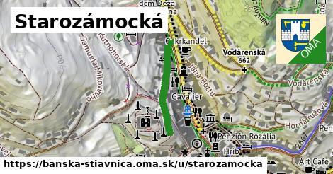 ilustračný obrázok k Starozámocká, Banská Štiavnica