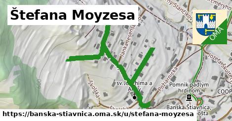 ilustračný obrázok k Štefana Moyzesa, Banská Štiavnica