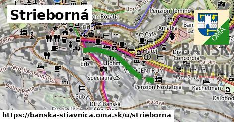 ilustračný obrázok k Strieborná, Banská Štiavnica