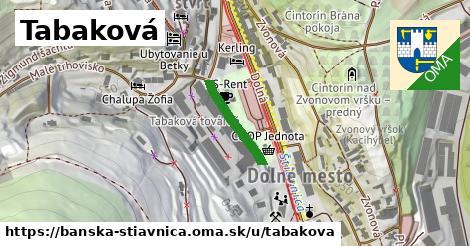 ilustračný obrázok k Tabaková, Banská Štiavnica