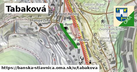 ilustrácia k Tabaková, Banská Štiavnica - 159m