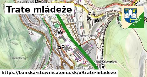 ilustračný obrázok k Trate mládeže, Banská Štiavnica