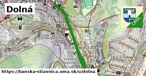 ilustrácia k Dolná, Banská Štiavnica - 0,88km