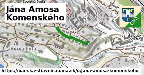 ilustrácia k Jána Amosa Komenského, Banská Štiavnica - 203m