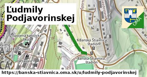 ilustrácia k Ľudmily Podjavorinskej, Banská Štiavnica - 211m