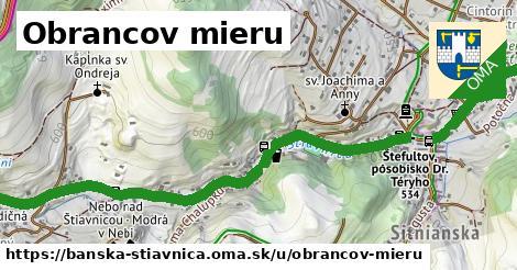 ilustrácia k Obrancov mieru, Banská Štiavnica - 2,7km