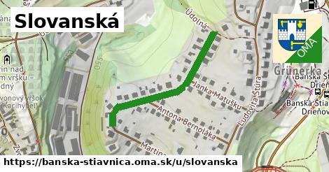 ilustrácia k Slovanská, Banská Štiavnica - 343m