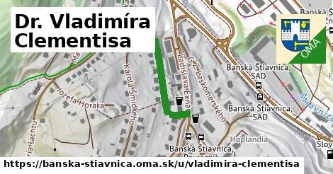 ilustrácia k Dr. Vladimíra Clementisa, Banská Štiavnica - 212m