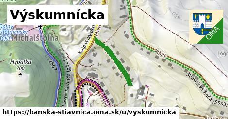 ilustrácia k Výskumnícka, Banská Štiavnica - 199m