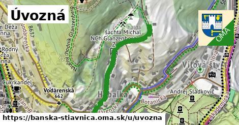 ilustračný obrázok k Úvozná, Banská Štiavnica