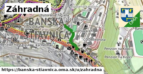 ilustrácia k Záhradná, Banská Štiavnica - 169m