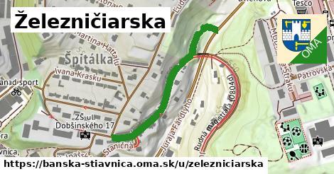 ilustrácia k Železničiarska, Banská Štiavnica - 383m