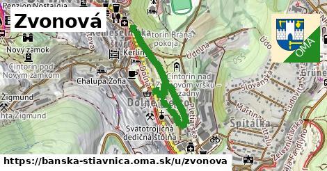ilustračný obrázok k Zvonová, Banská Štiavnica