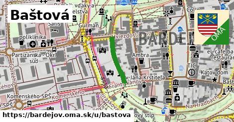 ilustrácia k Baštová, Bardejov - 155m