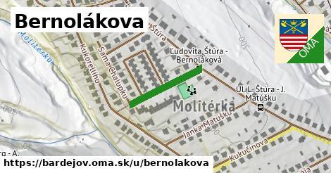 ilustrácia k Bernolákova, Bardejov - 178m