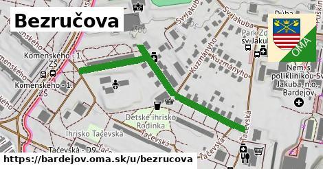 ilustrácia k Bezručova, Bardejov - 477m