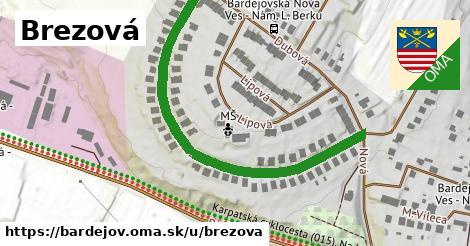 ilustrácia k Brezová, Bardejov - 567m