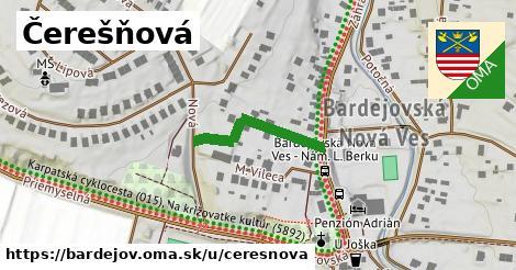ilustrácia k Čerešňová, Bardejov - 207m