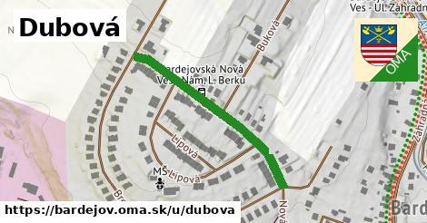 ilustrácia k Dubová, Bardejov - 351m