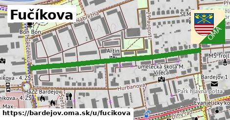 ilustrácia k Fučíkova, Bardejov - 546m