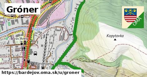 ilustračný obrázok k Gróner, Bardejov