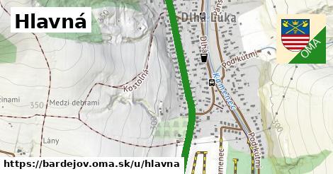ilustrácia k Hlavná, Bardejov - 1,93km