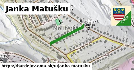 ilustrácia k Janka Matušku, Bardejov - 207m