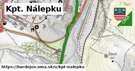 ilustrácia k kpt. Nálepku, Bardejov - 1,22km