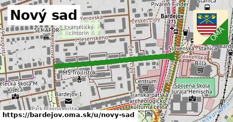 ilustračný obrázok k Nový sad, Bardejov