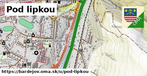 ilustrácia k Pod Lipkou, Bardejov - 1,12km
