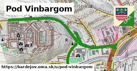 ilustrácia k Pod Vinbargom, Bardejov - 1,72km