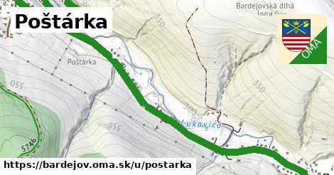 ilustrácia k Poštárka, Bardejov - 2,5km