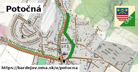 ilustrácia k Potočná, Bardejov - 522m