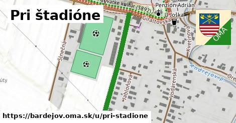 ilustračný obrázok k Pri štadióne, Bardejov