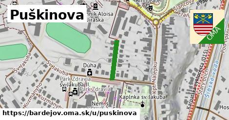 ilustrácia k Puškinova, Bardejov - 123m