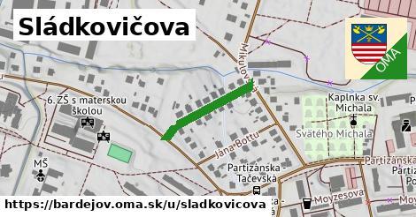 ilustrácia k Sládkovičova, Bardejov - 186m