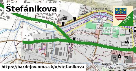 ilustrácia k Štefánikova, Bardejov - 2,4km