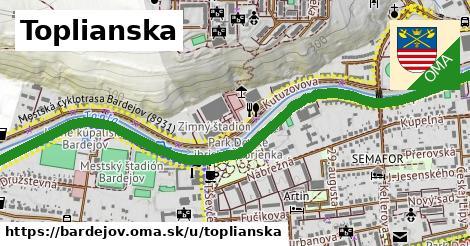 ilustračný obrázok k Toplianska, Bardejov