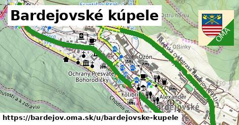 ilustrácia k Bardejovské kúpele, Bardejov - 3,0km