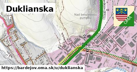 ilustrácia k Duklianska, Bardejov - 2,9km