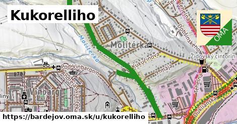 ilustrácia k Kukorelliho, Bardejov - 1,19km