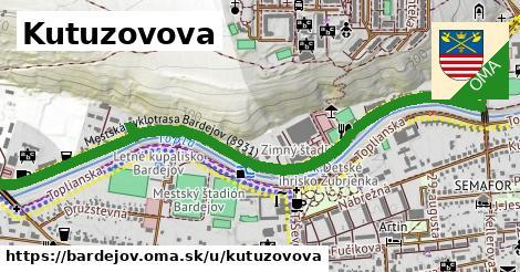 ilustrácia k Kutuzovova, Bardejov - 1,68km