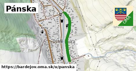 ilustrácia k Pánska, Bardejov - 561m