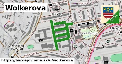 ilustrácia k Wolkerova, Bardejov - 604m