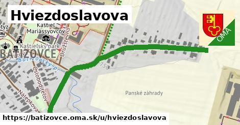 ilustrácia k Hviezdoslavova, Batizovce - 350m
