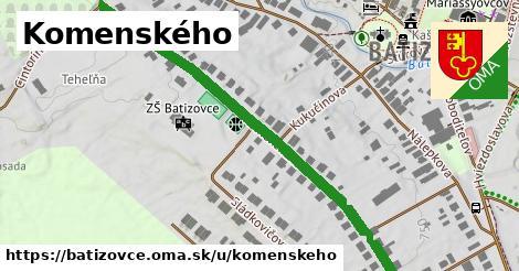 ilustrácia k Komenského, Batizovce - 0,81km