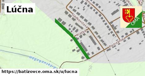 ilustrácia k Lúčna, Batizovce - 261m