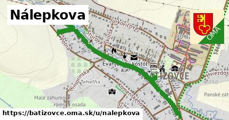 ilustrácia k Nálepkova, Batizovce - 0,77km