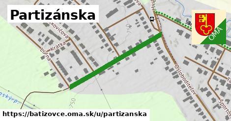 ilustrácia k Partizánska, Batizovce - 338m